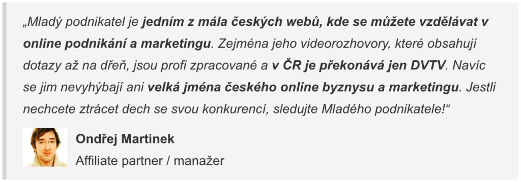 Ondřej Martinek